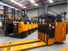 TMHA continues to lead the Australian forklift market