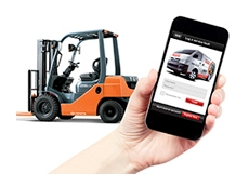 The new smartphone application enables faster and easier logging of service requests