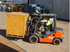 Clarkson Freightlines uses only Toyota forklifts in their fleet