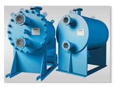 Fully welded Shell & Plate Heat Exchanger from Tranter