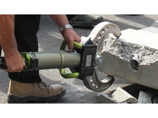 SC330 concrete crusher