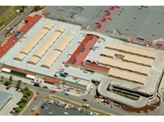 Vulkem roof coatings at Morayland's Shopping Centre
