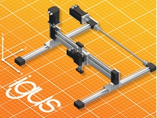 Compact drylin E linear robots ensuring precision in small spaces