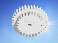 Design wear resistant double gears with igus online configurator