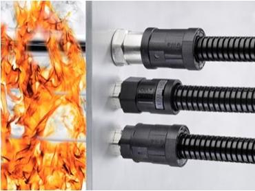 Fire barrier conduit