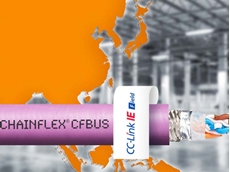igus' new chainflex Ethernet cables with a predictable and guaranteed service life and certificate for CC-Link IE protocols