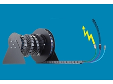 The 'c-chain' from igus supplies grippers, sensors and other units with energy, data and media in a continual loop