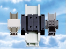 Metal free lightweight linear guides reducing cost and weight