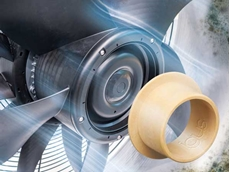 Fresh air with mould-resistant, tested and maintenance-free iglidur plain bearings made from high-performance plastics.