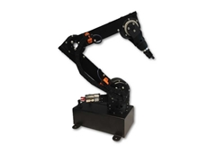 The Robolink D components kit helps developers build a fully articulated robotic arm