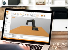 With free igus robot control, the user can simulate, programme and control the robot