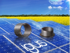 The iglidur J UV bearings range provides very good UV resistance