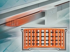 igus plane-chain: New, reliable energy chain system with convex special trough for high speeds in automation