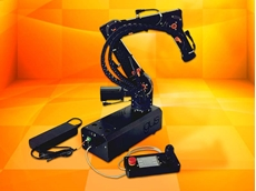 New igus robolink robot arm in a low cost compact design