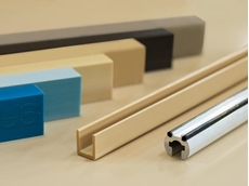 New industrial plastic profiles available for wear-resistant sliding