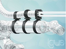One clamp for all robots: the new Lean Robotics igus retaining fixture from Treotham