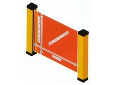 Photoelectric safety barrier