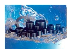 Reduces the degree of wear by a factor of 10 compared to graphite bearings.