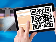 With a QR code app and camera, all the necessary information about the e-chain can be easily and conveniently accessed