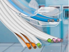 igus e-skin guides cables securely and abrasion-free in cleanroom applications