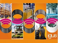 igus' intelligent plain bearings enabling predictive maintenance