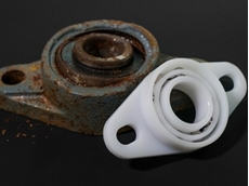 xiros plastic bearings beat metal bearings in salt water test