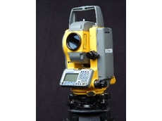The Trimble M3 Total Station is extremely user-friendly.