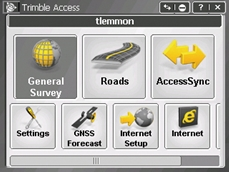 Trimble Access software
