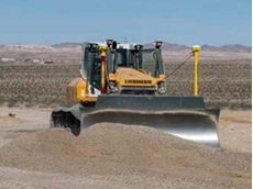 Trimble will demonstrate the Trimble GCS900 Grade Control Systems on a Trimble Ready Liebherr PR736 crawler tractor