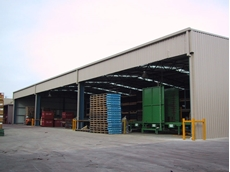 Packing and Process Sheds for Various Agricultural Applications by Trusteel Fabrications