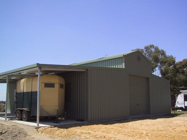 Practical American Barns By Trusteel Fabrications
