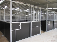 Stable Fit-out for your Barn, Arena, or Shed by Trusteel Fabrications