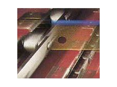 RF metric conveyor chain