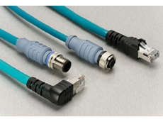 Cat 5e Ethernet cables from Turck