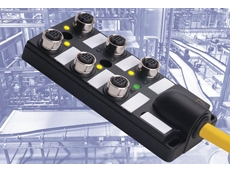 Turck extends M12 passive junction box line with 6-port model for flexible device integration