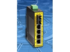 Turck in-cabinet IP20 Ethernet switch