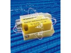 Dual axis inclinometer sensor for angular tilt detection