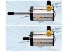 Twin-set sensor to augment the line of BIM-UNT cylinder position sensors