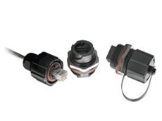 ODVA-compliant industrial Ethernet connectors