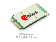 ​LTE/HSPA+/GPRS Mini PCIe modules from U-Blox