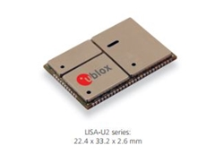 ​UMTS/HSPA Cellular Modules from U-Blox