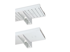 UNEX insulating cable trays are safe, quick and easy to mount.