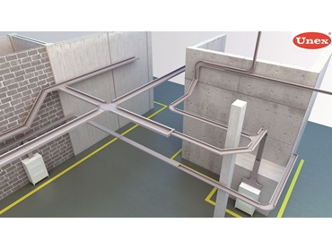 Supports and accessories constructed of the same insulating raw materials