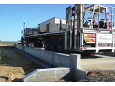 All steel work on the new weighbridge is hot dip galvanised for strong corrosion resistance
