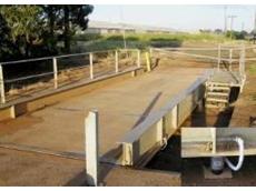 Flintec load cells fitted weighbridge