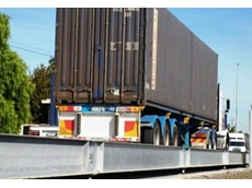 P&O Ports' new truck scales are being used for weighing trucks delivering shipping containers into the rail terminal