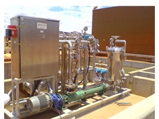 Ultraspin ES15 Water Treatment System built to BHP standards