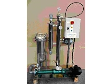 Ultraspin wash water recycling system