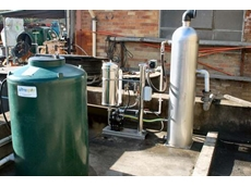 OS20 separation system, oil collection tank and aeration tank
