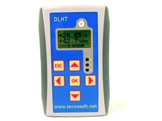 DLHT temperature and humidity dataloggers from Tecnosoft available from Unispan Instruments